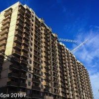 Ход строительства ЖК Победа (1-ая очередь) за 10 ноября 2016 г.