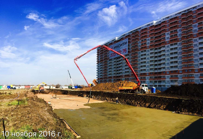 Ход строительства ЖК Победа (2-ая очередь) за 10 ноября 2016 г.