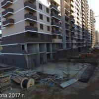 Ход строительства ЖК Победа (1-ая очередь) за 24 марта 2017 г.